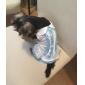 Dog Dress Dog Clothes Fashion Plaid/Check Blue Blushing Pink