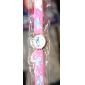 아동 패션 시계 석영 실리콘 밴드 카툰 핑크