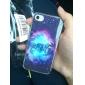 étoilé modèle arrière cas de ciel pour iPhone 4 / 4S