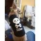 Gato Perro Camiseta Ropa para Perro Cráneos Corazones Amarillo Azul Azul/Amarillo Wine Negro/Amarillo