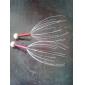 promover a circulação sanguínea do couro cabeludo cabeça pescoço liberação do stress massager (cor aleatória)