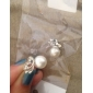 Femme Boucles d'oreille goujon Basique Mode Le style mignon bijoux de fantaisie Perle Alliage Forme d'Animal Papillon Bijoux Pour Soirée