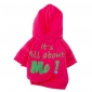 Dog Hoodie Dog Clothes Fashion Letter & Number Rose Green Blue Pink Light Blue Costume For Pets