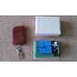 Récepteur 4 canaux à distance interrupteur de commande et de 4-touche de l'émetteur
