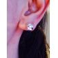 серебряная серьга ювелирных изделий Хооп Earrings65