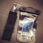 Bolsa Universal à Prova D'água com Tira para Braço para iPhone