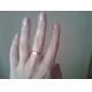 anel de aço eruner®titanium com design constelação