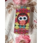 Colorful Glasses Owl Pattern Hard Case for iPhone 4/4S