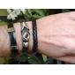 Homme Chaînes & Bracelets Bracelets en cuir Original bijoux de fantaisie Mode Cuir Tissu Bijoux Bijoux Pour Sports