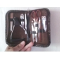 10pcs cortador de unhas em aço inoxidável tesoura kit manicure pedicure