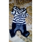 Dog Costume / Clothes/Jumpsuit Red / Black Dog Clothes Winter / Spring/Fall Sailor Cute / Cosplay