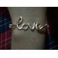 여성 체인 & 링크 팔찌 영감을 주는 합금 사랑 보석류 용 결혼식 파티 일상