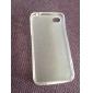 TPU 먼지 아이폰 4 / 4S에 대한 증거 소프트 케이스 (모듬 색상)
