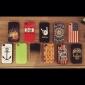 아이폰 4/4S (분류 된 색깔) 태양열 집열기 TPU 소프트 케이스