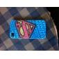 Diamantes S Padrão Hard Case para iPhone 4/4S