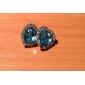 Женский Серьги-гвоздики Синтетический сапфир Любовь Pоскошные ювелирные изделия Синтетические драгоценные камни Искусственный бриллиант