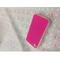 Gridding Projeto Soft Case de silicone para iPhone 4/4S (cores sortidas)