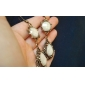 Korean jewelry earrings fashion retro hollow angel tears E16