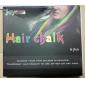 Não tóxico temporária Salon Kit Hot DIY cabelo colorido Giz 6 Cores Pastel Dye SV000202