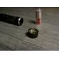 Lanternas e Luzes de Tenda LED 900 lm 3 Modo Cree XM-L U2 Recarregável Impermeável para Multifunções Baterias não incluídas Preto