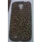 Élégant imprimé léopard étui souple de configuration pour Samsung Galaxy i9500 S4