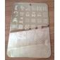 carimbos de arte para unhas / carimbo placa modelo de unhas / moldes para pontas das unhas de acrílico série mls no.5