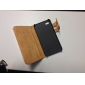 2014 New Arrival Soft Stand Wallet with Card Holde Leather Case for iPhone 4/4S