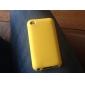 Etui en silicone souple de protection du dos pour iPod Touch 4 (couleurs assorties)