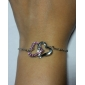 Z&X®  Heart - Shaped Diamond Bracelet