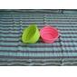 Кошка Собака Миски и бутылки с водой Животные Чаши и откорма Компактность Складной Желтый Розовый Красный Зеленый Синий