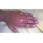 Anéis Pesta / Diário / Casual Jóias Liga Feminino Anéis Meio Dedo6 Dourado