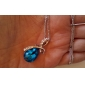 Women's Pendant Necklaces Crystal Drop Crystal Rhinestone Platinum Plated Alloy Fashion Elegant Costume Jewelry Jewelry For Wedding Party