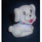 Doce Dog Night Light em forma de LED colorido (3xAG13)