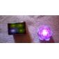 Charming Lotus Shaped Colorful LED Night Light (3xAG13)
