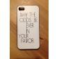 Шаблон Голодные игры пластиковых трудный случай для IPhone 4/4S