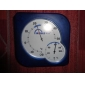 Dull Polish Design Desk-Top Thermometer and Hygrometer (Blue)