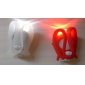 Silicone 2-LED 2-Mode Tie-on Bike Light (2xCR2032)