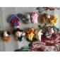 10PCS Nursery Rhyme Plush Finger Puppets Kids Talk Prop(Macdonald Had A Farm)