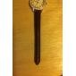 unisexe PU cuir bracelet de montre 14mm (noir)