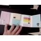 σετ αναδίπλωση αυτοκόλλητη καρτούν σημείωμα (τυχαία χρώμα)