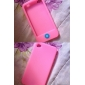 Chocolate Bean Silicon Case for iPhone 4 (Pink)