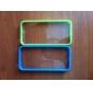Для Кейс для iPhone 5 Прозрачный Кейс для Задняя крышка Кейс для Один цвет Твердый PC iPhone SE/5s/5