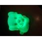 Chien doux en forme de lumière colorée LED Nuit (3xAG13)