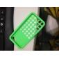 아이폰5C용 도트 조각문양 소프트 솔리드 컬러 뒷면 케이스 (다양한 색상)