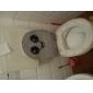 Круглая сторона Туалет стикер