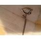 Cru d'alliage Forme Hobbyhorse collier pendentif (1 PC)
