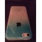 3d chuva estojo rígido transparente para iphone 5c (cores sortidas)