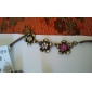 Jóias por atacado de doces coloridos bonito colar de flores europeus e americanos camisola cadeia N211