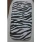 Zebra Stripe Pattern TPU Soft Case Cover for Galaxy S3 I9300