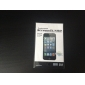 Protector de Pantalla Transparente con Tela de Limpieza para el iPhone 5